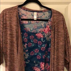 Kimono and top outfit